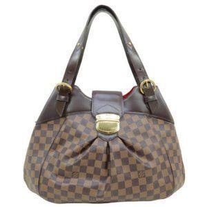 💯 Auth Louis Vuitton Sistina GM Shoulder Bag